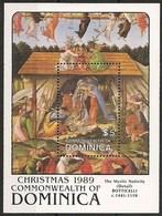 Dominica 1989 Christmas ** MNH Botticelli - Dominique (1978-...)