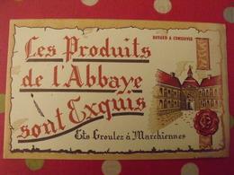 Buvard Groulez à Marchiennes. Les Produits De L'abbaye Sont Exquis. - Alimentaire
