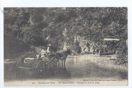 Cpa - 03 -    - Les Malavaux -   Passage Du Gue Du Jolan - 1912-   Attelage - France