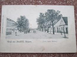 Gruss Aus Neudorfl  . Dos 1900 - Hongrie