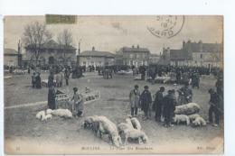 Cpa - 03 -    - Moulins -  Le Plan Des Bouchers  -1919 - Moulins