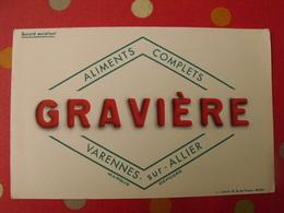 Buvard Aliments Complets Gravière. Varennes Sur Allier - Alimentaire