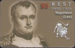NAPOLEON AND ZODIAC LEO - 1 Card RARE! - Zodiaco