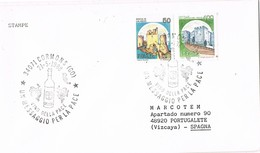 30707. Carta CORMONS (Go) 1988. Wein, Vino, Vine, Uvas - 6. 1946-.. Repubblica