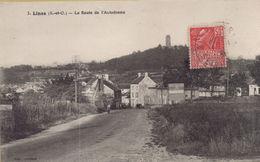 Linas : La Route De L'Autodrome - France