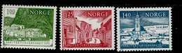 Europa Sympathieausgaben Denkmalschutzjahr Norwegen 700 - 702  MNH Neuf ** Postfrisch - Gemeinschaftsausgaben