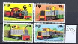 FIDSCHIINSELN -  348/51  Lokomotiven  Kpl.postfr - Fidji (1970-...)
