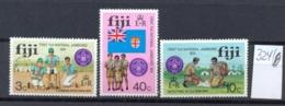 FIDSCHIINSELN -  324/6  Pfadfinder  Kpl.postfr - Fidji (1970-...)