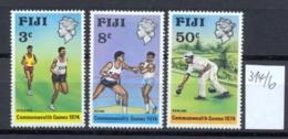 FIDSCHIINSELN -  314/6  Commonw.-Spiele  Kpl.postfr - Fidji (1970-...)