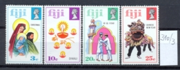 FIDSCHIINSELN -  310/3  Religiöse Feste  Kpl.postfr - Fidji (1970-...)