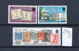 FIDSCHIINSELN -  273/5  Briefmarken 100 J.  Kpl.postfr - Fidji (1970-...)