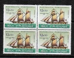 MOZAMBIQUE   Scott # 451** VF MINT NH BLOCK Of 4 (Stamp Scan # 433) - Mozambique