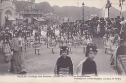 Ixelles Cortège Des Saisons Juillet 1910 Les Pâquerettes - Ixelles - Elsene