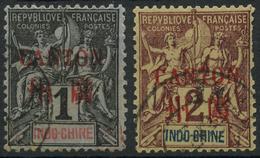 Canton (1901) N 1 + 2 (o) - Canton (1901-1922)
