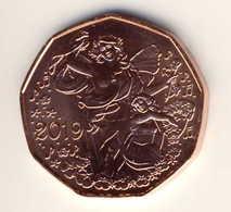 """5 Euro 5€ - Münze Kupfer Aus  2019, """"Lebensfreude"""" UNC - Oesterreich"""