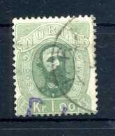 1878 NORVEGIA N.32 USATO - Norvegia
