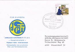 30710. Carta HEUSENSTAMM (Alemania Federal) 1980. Jumelage International. Remitida DARMSTADT - [7] República Federal