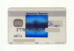 Parex Bank LATVIA Blu Card AMERICAN EXPRESS Expired - Geldkarten (Ablauf Min. 10 Jahre)