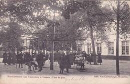 Etablissement Des Ursulines à Lierre Cour De Jeux Circulée En 1905 - Lier