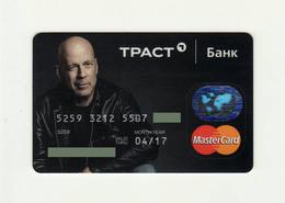Trust Bank RUSSIA B.Villis Mastercard Expired - Tarjetas De Crédito (caducidad Min 10 Años)