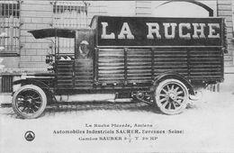 AMIENS 80 SOMME Camion SAURER De LA RUCHE PICARDE - Amiens