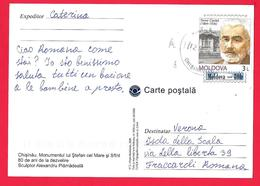MOLDOVA - CHISINAU MONUMENTUL LUI STEFEN CEL MARE SI SFINT - TOMA CIORBA - Moldavia