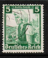 GERMANY   Scott # B 71 VF USED (Stamp Scan # 433) - Used Stamps