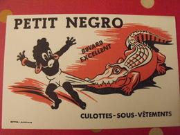 Buvard Petit Negro. Culottes Sous-vêtements. Crocodile Alligator Caîman. Vers 1950 - Textile & Vestimentaire
