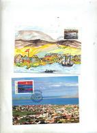 Carte Maximum 1987 Port - Féroé (Iles)