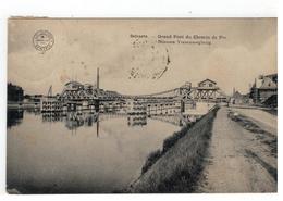 Zelzate Selzaete. - Grand Pont Du Chemin De Fer 1913 - Zelzate