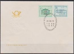 DDR FDC 1959 Nr.676 - 677 150.Geb. Felix Mendelsohn Bartholdy ( D 6412 ) )günstige Versandkosten - FDC: Briefe