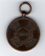 Allemagne - Prusse - Croix De Souvenir - Erinnrungskreuze 1813 - Ante 1871