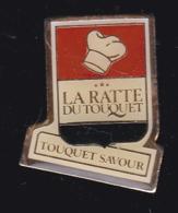 59219-Pin's.  Restaurant La Ratte Du Touquet - Städte