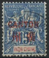 Canton (1901) N 7 (o) - Oblitérés