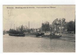 Wetteren.  Draaibrug Over De Schelde 1919 - Wetteren