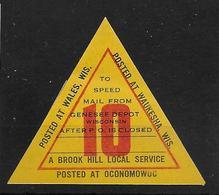 USA Brook Hill Local Service Local Post - Sonstige