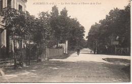 78ACH- ACHERES - La Porte Neuve Et L'entrée De La Forêt - Acheres