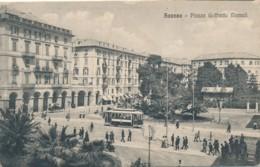 V.44.  SAVONA - 1918 - Tram - Savona