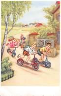 PIE-RO-18-7598 : LA COURSE EN TROTTINETTE. TROTINETTE D'ENFANTS. - Jeux Et Jouets