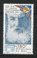 """Mali YT 251 """" Graham Bell """" 1975 Neuf** - Mali (1959-...)"""