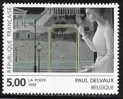 TIMBRE N° 2781  --   TABLEAU P. DELVAUX  -  NEUF   -  1992 - Neufs