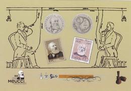 """""""PISA AUTUNNO 2008"""" OMAGGIO A ANTONIO MEUCCI NEL CENTENARIO DELLA NASCITA NON VIAGGIATA - Historical Famous People"""