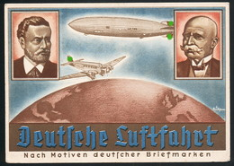 AK/CP Propaganda Olympia 1936  Dresden  Zeppelin  Ungel./uncirc. 1936    Erhaltung /Cond. 2  Nr. 00565 - Dirigeables