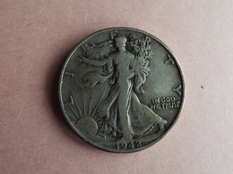 PIECE HALF DOLLAR LIBERTY WALKING 1942 - Etats-Unis