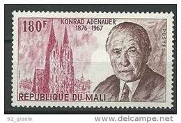 "Mali YT 257 "" K. Adenauer "" 1976 Neuf** - Mali (1959-...)"