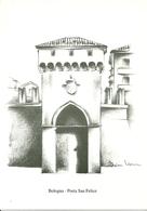 """Bologna (Emilia R.) """"23^ Congresso Eucaristico Nazionale"""" 1997, """"Porta San Felice"""" Dis. Veronica Finotti - Bologna"""