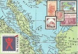 "Poste Italiane ""Malaysian National Youth Philatelic Exhibition"" Kuala Lumpur 1991 - Poste & Facteurs"