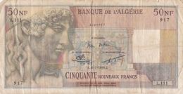 Billet 50 NF Algérie - Algérie