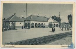 Balatonzamardi. Railway Station. - Hungary