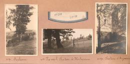 Awirs Chateau Aigremont Prov. Liège 3x Foto 3x Photo - Engis